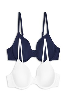 Next Holly Lightly Padded Modal Full Cup Bras Two Pack