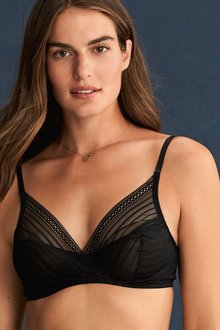 Next Lizzie Non Padded High Apex Balcony Bra