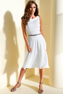 Heine Sleeveless Fit and Flare Dress - 227111