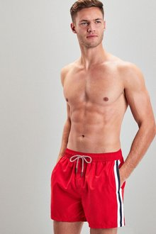Next Side Stripe Swim Shorts