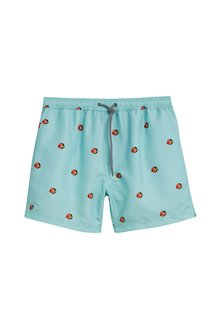 Next Fish Print Swim Shorts