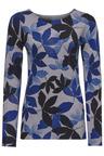 Heine Leaf Print Pullover