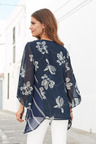 European Collection Floral Bead Detail Top