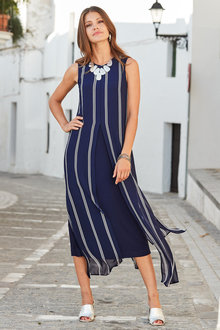 European Collection Split Front Dress - 227160