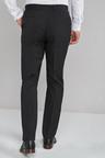 Next Stretch Plain Front Trousers-Regular Fit