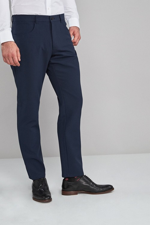 Next Five Pocket Jean Style Trousers-Regular Fit