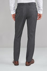Next Textured Trousers-Slim Fit