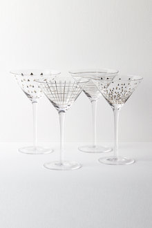 Celebration Martini Glasses Set of Four Assorted - 227200