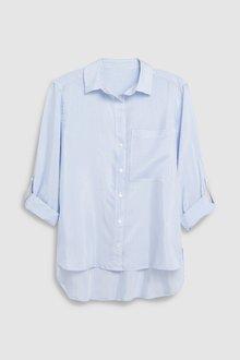 Next Stripe Shirt-Petite