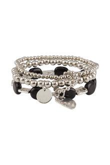 Amber Rose Coachella Heart Stretch Bracelet Set