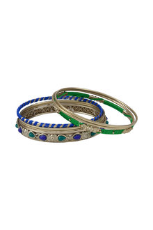 Amber Rose Festive Bangle Set