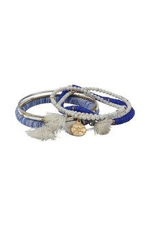 Amber Rose Festive Bracelet Stack