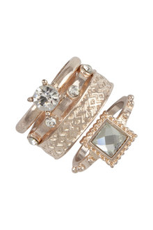 Amber Rose Sophia Ring Stack
