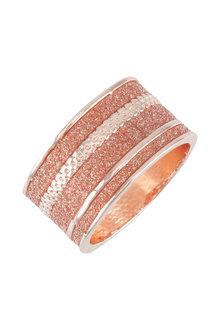 Amber Rose Orbital Finger Ring