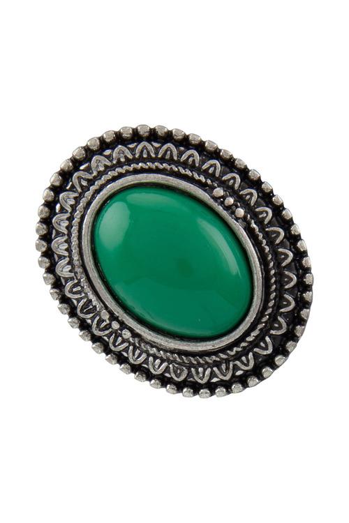 Amber Rose Festive Ring