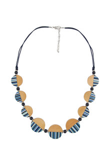 Amber Rose Solstice Stripe Necklace