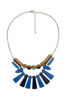 Amber Rose Solstice Statement Necklace