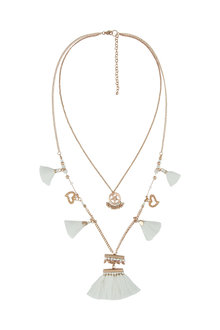 Amber Rose Totem Two Strand Necklace - 227319