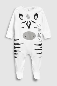 Next Zebra Dress Up Sleepsuit And Hat (0-18mths)