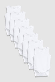 Next Vests Seven Pack (0mths-3yrs)