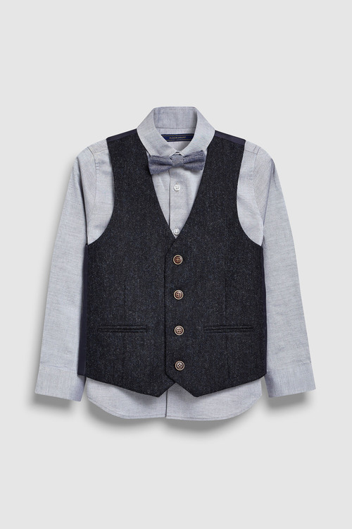 Next Heritage Waistcoat Set (3-16yrs)