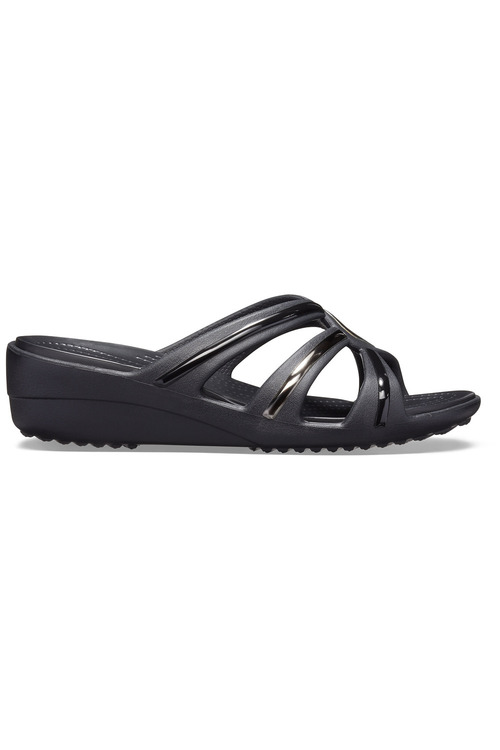 Crocs Sanrah MetalBlock Wedge