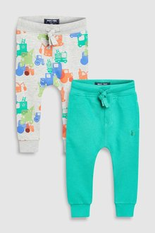 Next Tractor Joggers Two Pack (3mths-6yrs)