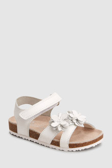 Next Flower Corkbed Sandals (Younger)
