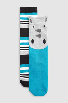 Next Rhino Welly Socks Two Pack (Younger)
