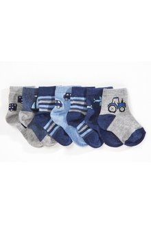 Next Transport Socks Seven Pack (Younger)