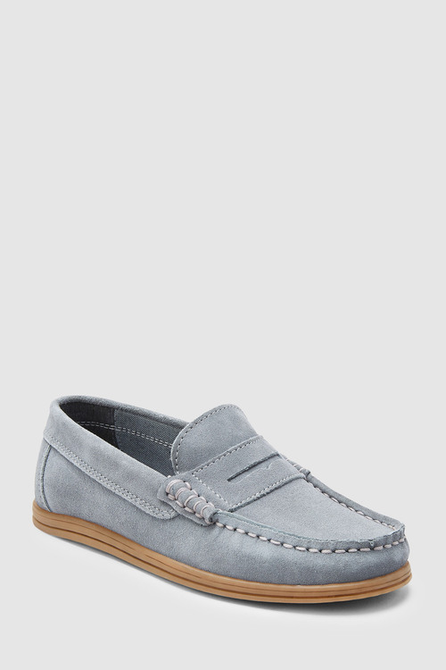 Next Italian Suede Penny Loafers (Older)