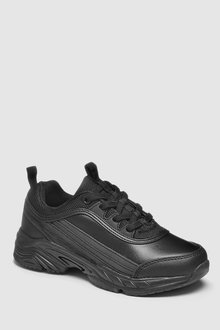 Next Leather Chunky Trainers (Older)