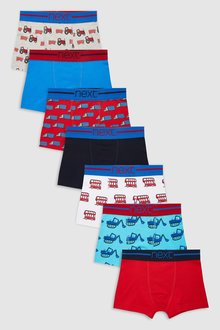 Next Transport Trunks Seven Pack (2-12yrs)