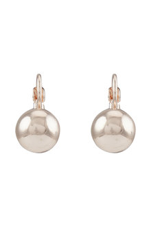 Amber Rose Single Ball Drop Earring