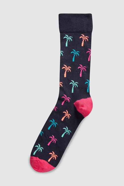 Next Palm Tree Socks
