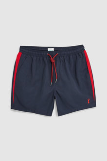 Next Back Stripe Swim Shorts