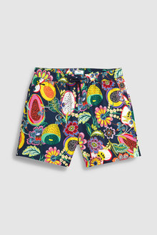 Next Fruit Print Swim Shorts