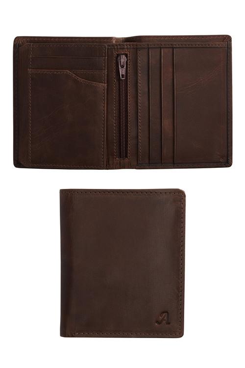 Next Monogram Leather Extra Capacity Wallet