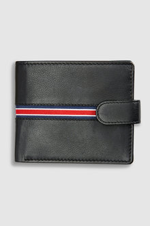 Next Striped Leather Wallet