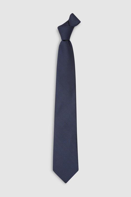 Next Signature Tie With Pattern Pocket Square Set