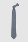 Next Signature Italian Silk Printed Tie