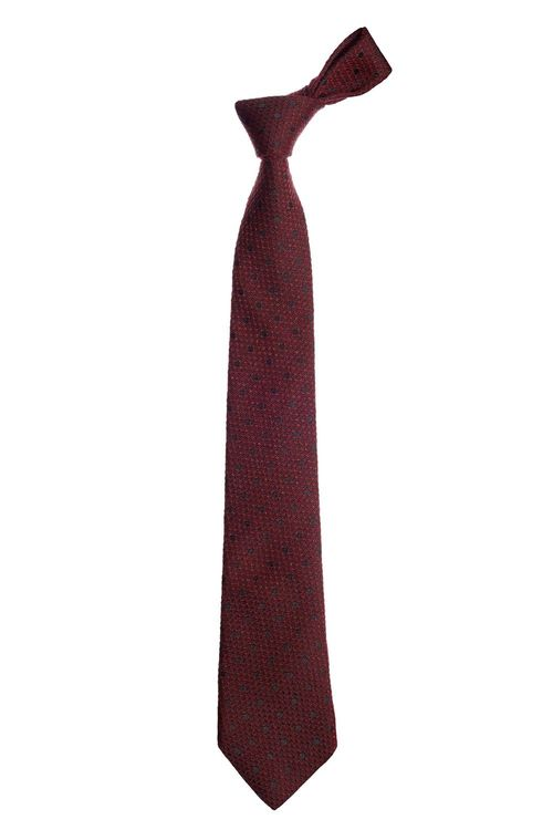 Next Signature Italian Fabric Spot Tie