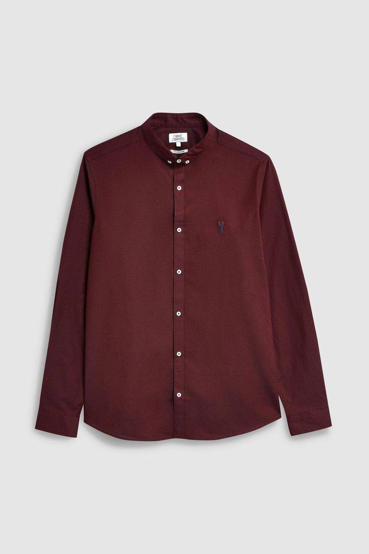 389269204a Next Skinny Fit Long Sleeve Stretch Oxford Shirt Online   Shop EziBuy