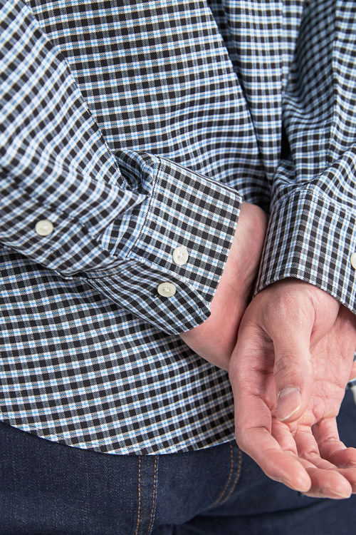 Next Gingham Long Sleeve Shirt