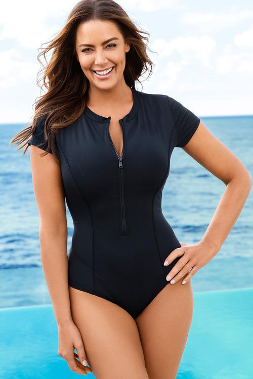 Quayside Woman Cap Sleeve Suit