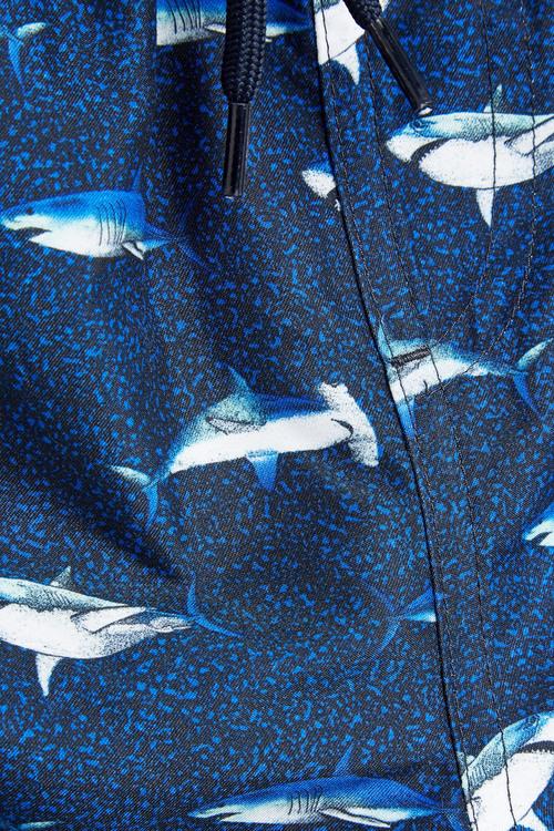 Next Shark Print Swim Shorts (3mths-16yrs)