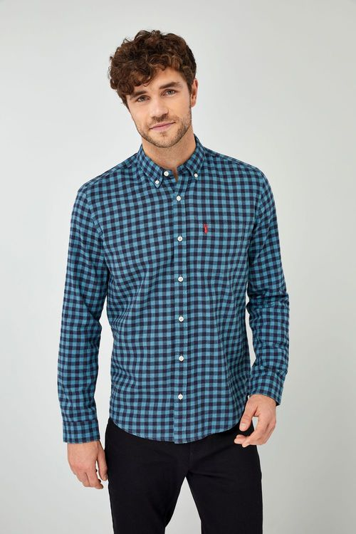 Next Gingham Shirt