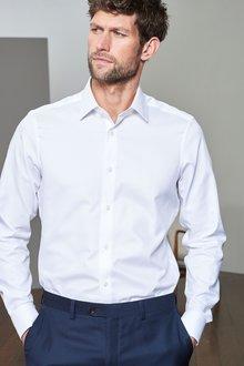 Next Signature Canclini Shirt-Slim Fit Single Cuff