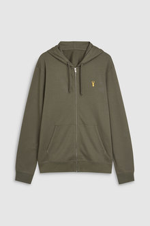 Next Stag Zip Through Hoody