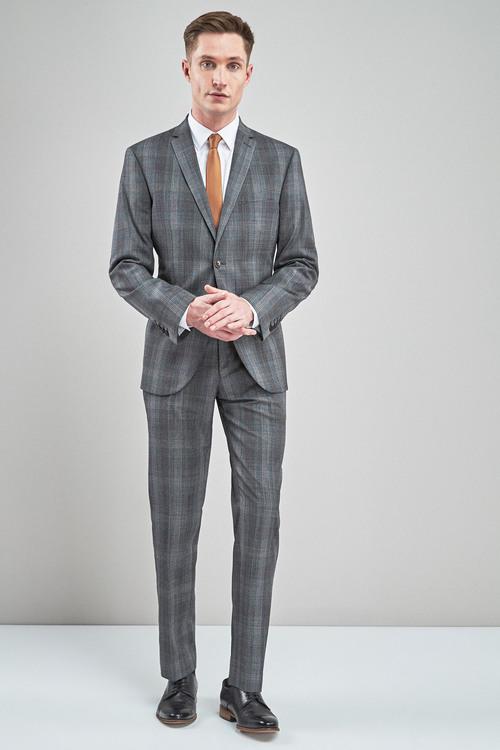 Next Signature Check Suit: Jacket